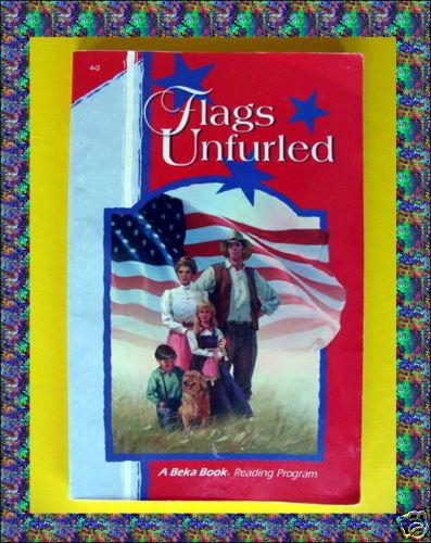 Abeka flags unfurled a beka homeschool book gr grade 4 reading phonics