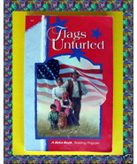 Abeka FLAGS UNFURLED A Beka Homeschool BOOK Gr grade 4 Reading Phonics C... - $19.70