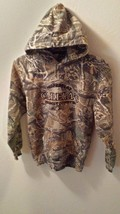 Large Youth Cabelas  Seclusion 3D  Camouflage Hoodie - $11.87