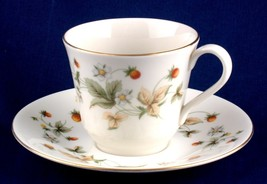 Royal Doulton Strawberry Cream Cup and Saucer TC1118 - $7.99