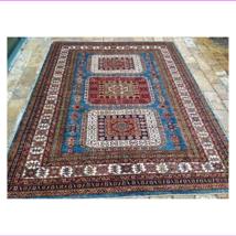 "Oriental Rug Fine super Kazak Wool  Hand Knotted Tribal Design Rug 5'10"" X 7'10 - $1,749.01"