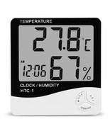 Digital Humidity Meter Thermometer Hygrometer LCD Temperature Indoor Min... - $14.99