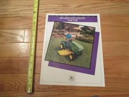 John Deere 320 Lawn & Garden Tractor Vintage Dealer sales brochure - $14.99