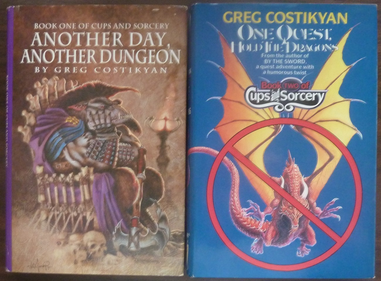 Cups and Sorcery Another Day Another Dungeon, Hold the Dragons by Greg Costikyan
