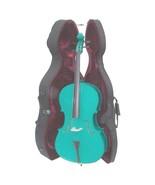 Crystalcello MC150GR 4/4 Size Green Cello with Case,Bag,Bow - $359.99