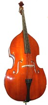 Merano MB100 Student 4/4 Size Upright Double String Bass with Bag,Bow + Rosin - $699.00