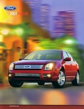 2007 Ford FUSION sales brochure catalog 07 US SE SEL - $6.00