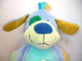 "Manhattan Toy Peek Squeak Plush Activity Puppy Dog 12"" Teether Rattle image 3"