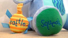 "Manhattan Toy Peek Squeak Plush Activity Puppy Dog 12"" Teether Rattle image 4"