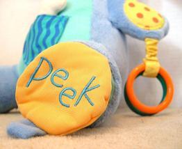 "Manhattan Toy Peek Squeak Plush Activity Puppy Dog 12"" Teether Rattle image 5"
