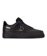 Men's Nike Air Force 1 '07 LV8 3 Casual Shoes Black/Black/Black/White CT... - $155.56