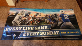 EVERY GAME, EVERY SUNDAY FOOTBALL BANNER VINYL SIGN 6' Ft x 3' Ft - $34.64