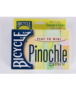 Pinochle Card Game Bicycle 2000 Complete Set - $9.69