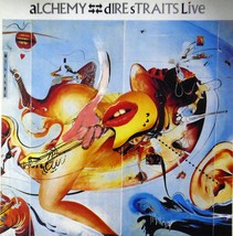"Alchemy - Dire Straits Live (Album Cover Art) - Framed Print - 16"" x 16"" - $51.00"