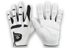 Bionic Men's StableGrip With NaturalFit Golf Glove, Left, White, Cadet Small - $48.58