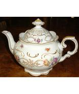 Dresden Flowers Teapot by Schumann Bavaria Germany - $325.00