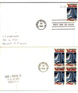 BILL OF RIGHTS 175th Anniversary first day covers July 1, 1966 - $2.00
