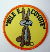WILE E. COYOTE round  vintage jacket or shirt patch - $12.50