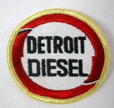 DETROIT DIESEL Truck Engine logo  vintage jacket or shirt patch - $12.50