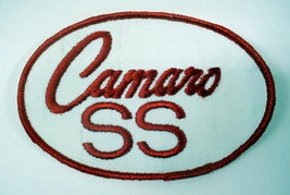 CAMARO SS Oval vintage jacket or shirt patch - $12.00