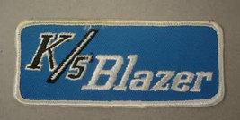 patch.  Chevy K5 BLAZER.  vintage jacket patch - $9.50