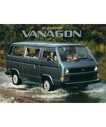 1984 Volkswagen VANAGON sales brochure catalog 84 VW Camper - $10.00