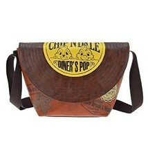 Disney Store JAPAN Chip & Dale Messenger Bag LP Record Bag Shoulder Poch... - $64.35