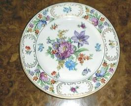 Dresden flowers luncheon plate thumb200