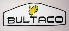 BULTACO  motorcycle vintage LARGE  jacket or shirt patch - $12.50