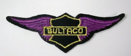 BULTACO motorcycle figural vintage jacket or shirt patch - $9.50