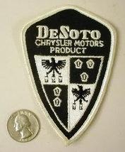 DESOTO CHRSLER MOTOR Products  vintage car jacket or shirt patch - $10.00