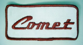 COMET rectangular vintage car jacket or shirt patch - $10.00