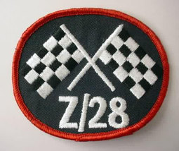 Camaro Z/28 oval vintage car jacket or shirt patch - $10.00