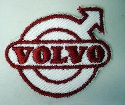 VOLVO diecut ARROW LOGO  vintage jacket patch.  mint - $12.00