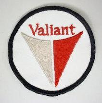 Plymouth VALIANT round logo.  vintage jacket patch.  mint - $12.50