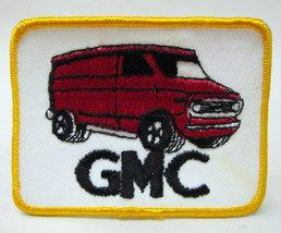 GMC VAN .  vintage jacket patch.  mint - $11.50