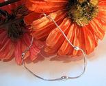 Sterling silver ankle bracelet anklet thumb155 crop
