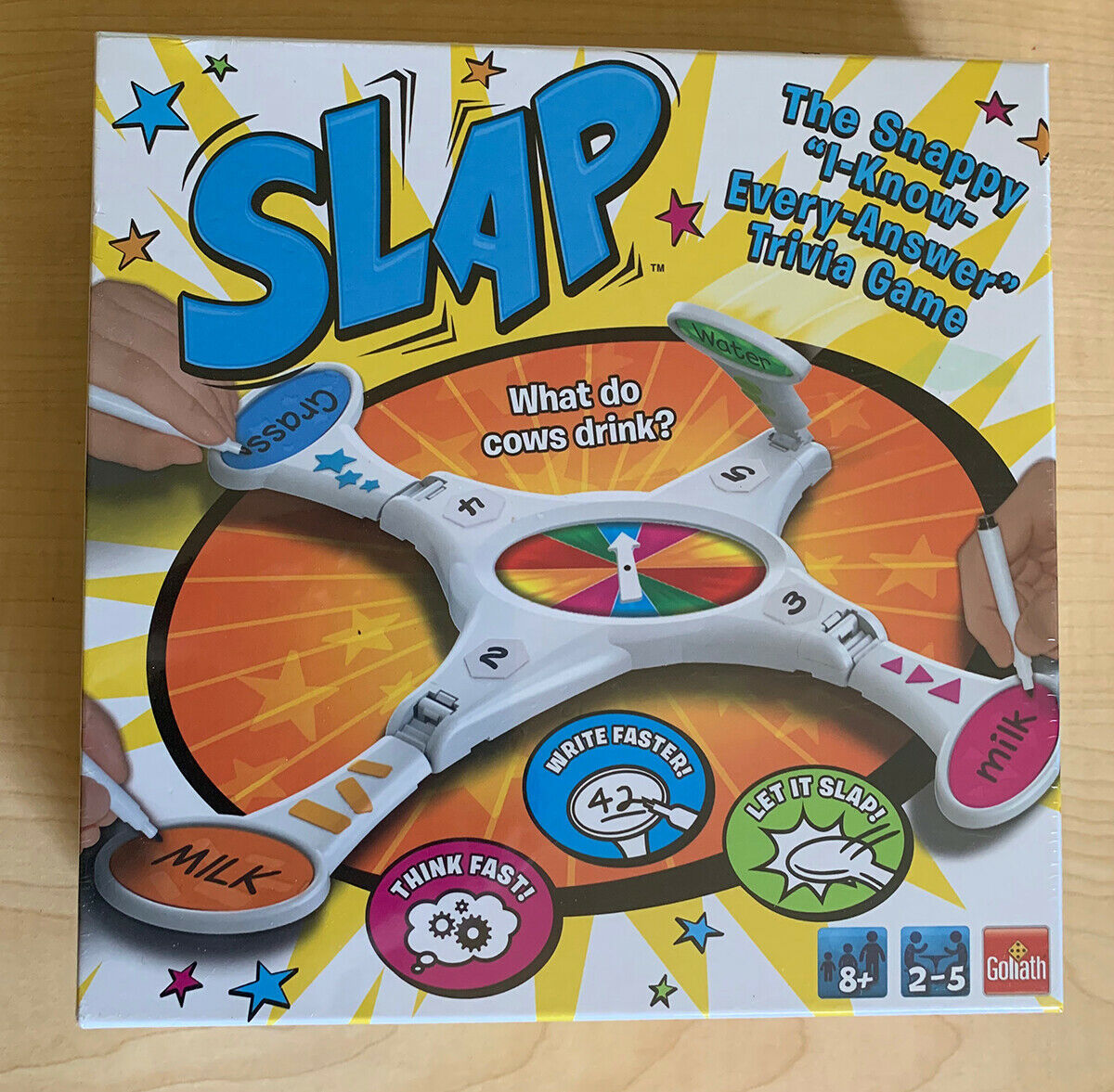 Primary image for SLAP Trivia Game by Goliath Games 76164 • For 2 - 5 Players Age 8+ NEW & SEALED