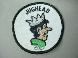 JUGHEAD from Archie Comics cartoon character  vintage jacket patch - $19.50