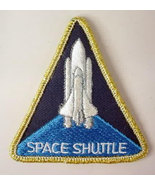 SPACE SHUTTLE space program  vintage shirt or jacket patch - $6.50
