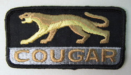 Mercury COUGAR car logo  vintage jacket patch - $12.00