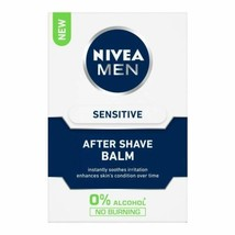 Nivea for Men Sensitive After Shave Balm Instantly Soothes And Calms Ski... - $35.72