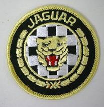 JAGUAR round shape automotive vintage jacket patch - $11.50