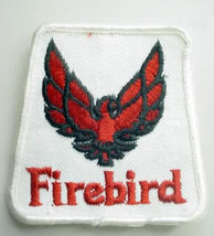FIREBIRD  automotive vintage jacket or hat patch - $10.00