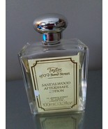 Taylor Of Old Bond Street Sandalwood Aftershave Lotion, 3/4 full bottle. - $20.57
