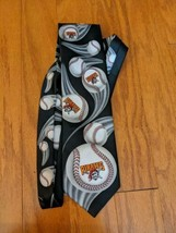 Ralph Marlin Pittsburgh Pirates Bucks Neck Tie 1994 125 Anniversary Base... - $14.01
