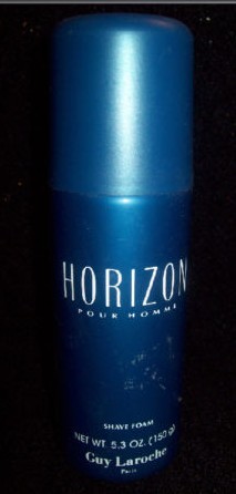 HORIZON POUR HOMME Cologne SHAVE FOAM 5.3 oz. Men Guy Laroche Perfume Fragrance