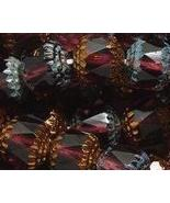 Czech Glass 10mm Cathedral Amethyst Faceted Beads - 10 - $4.99