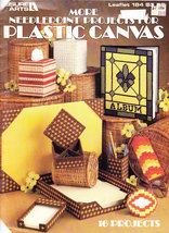 MORE NEEDLEPOINT PROJECTS FOR PLASTIC CANVAS LEISURE ART 184 FREEBIE SEE... - $0.00