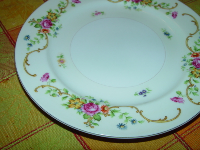"Primary image for KONGO CHINA S.T.S HAND PAINTED DINNER 10"" PLATE"